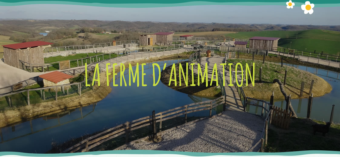 La ferme d'animation Gers